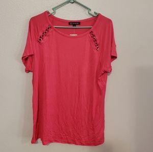 INC Pink Blouse
